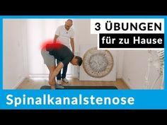 Spinalkanalstenose - 3 Übungen für zu Hause (sofort anwendbar) - YouTube