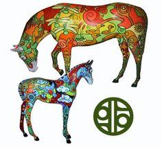 horse project B by geebeediggem.deviantart.com on @deviantART