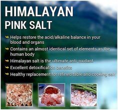 Himalayan Pink Salt - why it's preferred on the cleanse (and in general)