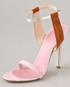 Jenni Kayne Suede Ankle Strap Sandals