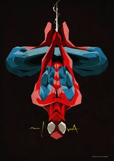 """geeksngamers: """" Spiderman - by ColourOnly85 """""""