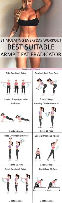Repin and share if this workout helped you finally get the sexy arms you want! Click the pin for all the workout descriptions.