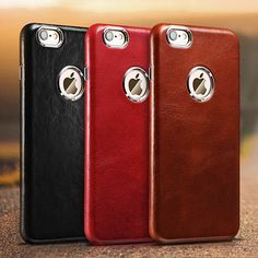 iCarer iPhone 6/ 6S Case Transformers Vintage Back Cover Series Genuine Leather Case
