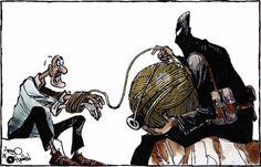 كاريكاتير جريدة الحياة (السعودية)  يوم الخميس 8 يناير 2015  ComicArabia.com  #كاريكاتير