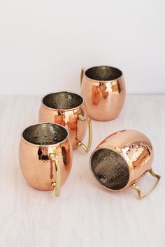 #copper, #glassware, #mug Photography: Freutcake - www.freutcake.com View entire slideshow: 25 Ways to Add Copper Into Your Life on http://www.stylemepretty.com/collection/939/