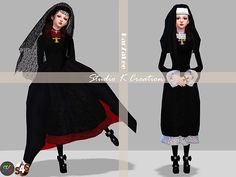 Studio K Creation: DarkSouls nun's outfit • Sims 4 Downloads