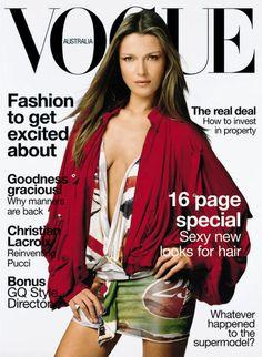 Vogue Australia April 2003 - Veronika Varekova