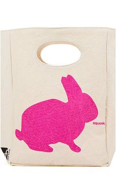 Fluf Organic Cotton Lunch Bag, Bunny Best Price