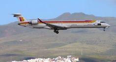 Canary Islands Spotting....Spotter: EC-JZU - Canadair CRJ-900ER Air Nostrum LPA/GCLP S...