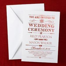Perfect Wedding Invitation By Tech Image   Baltimore