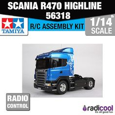 56318 tamiya scania r470 #highline 1/14th r/c radio #control assembly #model kit,  View more on the LINK: 	http://www.zeppy.io/product/gb/2/311724319911/