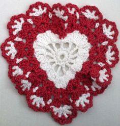 Sweetheart Dishcloth or doily