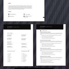 Cv Resume Template, Creative Resume, Templates, Personalized Items, Creative Cv, Stencils, Cv Template, Vorlage, Creative Resume Design