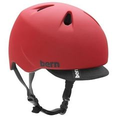 Bern Nino Bike Helmet Youth Boy's 2012 by Bern. $35.90. The Bern Nino Bike Helmet was created for the little groms who rip on everything from bikes to skis. Offering all the features of the adult Bern helmets but at an economical price, this will be the one helmet for all his action sport�s needs.