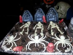 Death mud pie for Halloween