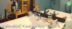 Le zéro déchet, 4 ans plus tard - Partie 2 : Beauté, Santé & Salle-de-bains Routine, Sink, Home, Shampoo Bottles, Solid Perfume, Sanitary Napkin, Bath, Sink Tops