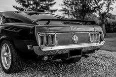 Ford Torino Cobra Fastback 1969 Retro Style Babygrow Strampler