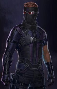 Hawkeye has never had a comic book faithful costume in the Marvel Cinematic Universe, but concept artist Andy Park has revealed a design which very nearly made it into Captain America: Civil War. Marvel Comics, Marvel Avengers, Heros Comics, Marvel Heroes, Marvel Characters, Captain Marvel, Hawkeye Avengers, Marvel Concept Art, Serie Marvel