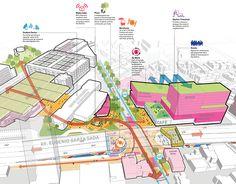 - Tecnolgico de Monterrey Urban Regeneration Plan – Sasaki Tecnolgico de Monterrey U - Site Analysis Architecture, Architecture Concept Diagram, Architecture Presentation Board, Architecture Diagrams, Presentation Boards, Architectural Presentation, Architectural Models, Urban Design Concept, Urban Design Diagram