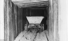 Three tunnels were built by the airmen in Stalag Luft III - they called them Tom, Dick and Harry - the latter was used by 76 POWs to break out on March 24, 1944
