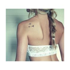 Small Tattoo Ideas for Girls TopicBistro ❤ liked on Polyvore featuring tattoos, tatoos, accessories, pictures and hair