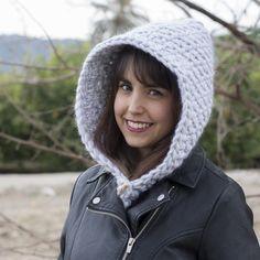 Gorro capucha de lana - MissDIY
