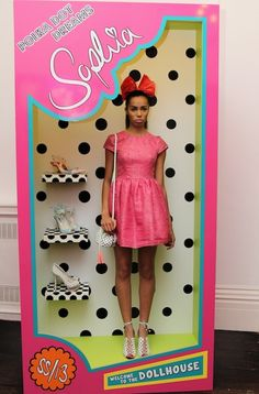"The Terrier and Lobster: ""Welcome to the Dollhouse"": Sophia Webster Spring 2013 Barbie Doll Presentation"