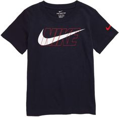 Nike Stronger Graphic T-Shirt (Toddler Boys & Little Boys) Easy Cartoon Drawings, Tee Shirt Designs, Toddler Boys, Little Boys, Graphic Tees, Tee Shirts, Nordstrom, Sweatshirts, Lacoste