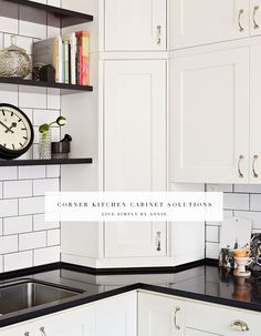 Upper corner kitchen cabinets are a possessor of their own brand of evil, and in some cases (like when the entry is fist-wide and the door is one hobbit-sized panel) are even more difficult than th...