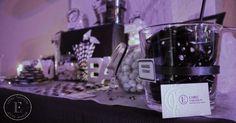 Candy Bar Black and White. Bar à bonbons Noir et Blanc. Label' Emotion Côte d' Azur
