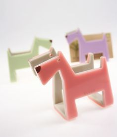 KLEAR Object - Anigami - Dog-Gami Namecard Holder