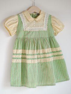 Vintage toddler dress