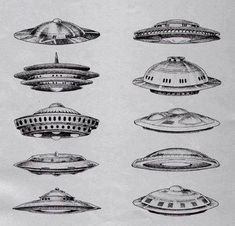 drawing Illustration space galaxy science fiction nasa UFO spaceship