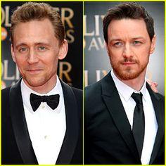 Tom Hiddleston & James McAvoy
