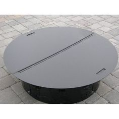 Metal Fire Pit Covers Round Round Metal Fire Pit Cover For Round