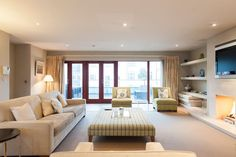 Apartment in Dublin, Ireland. Beautifully decorated, the interior of this spacious apartment will have you feeling right at home. Plush seating areas, airy spaces and and an atmosphere of luxury all combine to make this apartment Dublin's finest rental in the best location.  M...