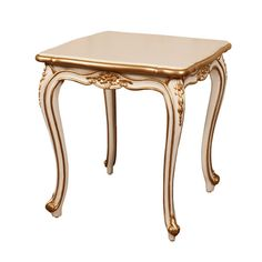 Louis XV Gilded Side Table
