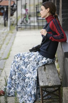 Get this look: http://lb.nu/look/8273011  More looks by Iris .: http://lb.nu/fashionzen  Items in this look:  Chloé Sweater, Erdem Skirt, Chloé Bag