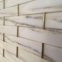 marble mosaic with brass inserts - interior design details for bathroom design Bathroom Inspiration, Interior Inspiration, Design Inspiration, Interior Decorating, Interior Design, Marble Interior, Gold Interior, Design Interiors, Wall Finishes
