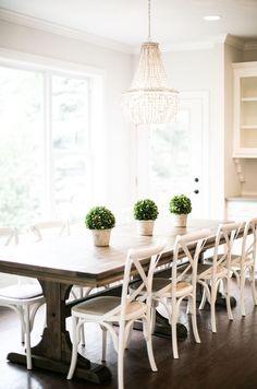 best farmhouse dining room table ideas pinterest diy west paul model custom home homes off tablewood