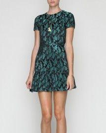 Ruffle T Dress