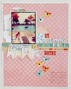 Oh my goodness, I love this layout (spotted on the Studio Calico blog).