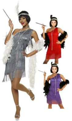 free shipping 459 G58 1920s Roaring 20s Black Red Flapper Costume Charleston Dress with boat