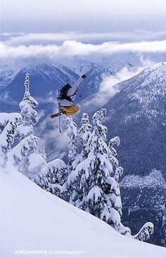 Skiing and stuff