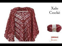 YouTube Crochet Cardigan, Crochet Shawl, Crochet Clothes, Knitting, Stylish, Sweaters, Cardigans, Youtube, Jackets