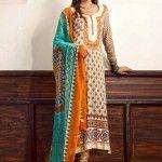 Zaheer Abbas Lawn Summer 2013 by Shariq Textiles