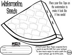 Send this home to encourage kids to bring in Box Tops for money for your school!  Find other months here: August - http://www.teacherspayteachers.com/Product/August-Box-Tops-779451 September - 574905http://www.teacherspayteachers.com/Product/September-Box-Tops-574897 January - http://www.teacherspayteachers.com/Product/January-Box-Tops-574890 March - http://www.teacherspayteachers.com/Product/March-Box-Tops-