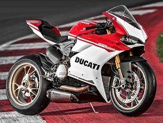 Ducati 1299 Panigale S Anniversario 2016 - Fiche moto - Motoplanete Moto Ducati, Ducati Motorcycles, Vintage Motorcycles, Motos Sexy, Ducati 1299 Panigale, Bike Brands, Harley, Sportbikes, Hot Rides