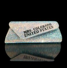 Title holder crystalized pageant purse - MARC DEFANG NEW YORK
