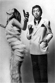 Jane Birkin & Serge Gainsbourg, 1970Photo by Guy Bourdin